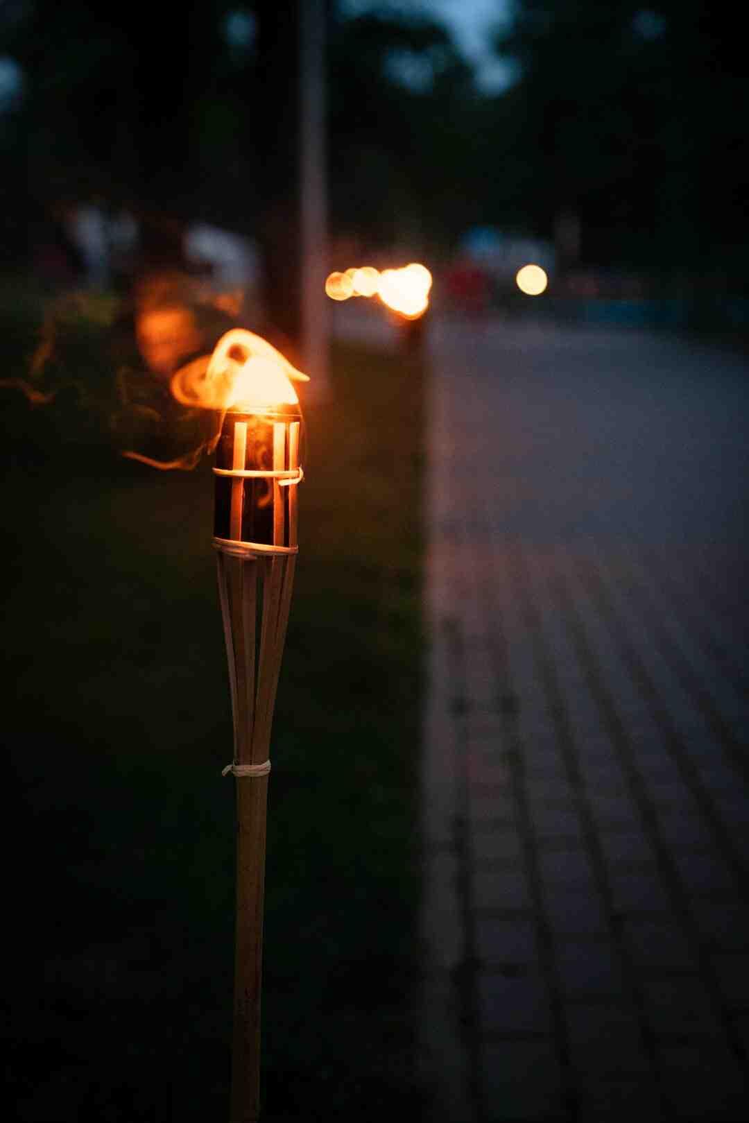 Comment fabriquer une torche